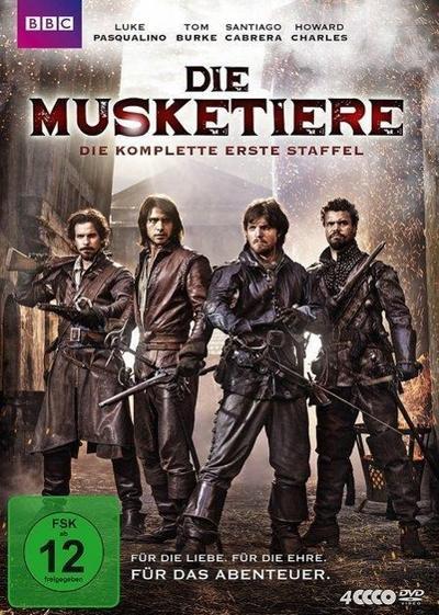 Die Musketiere - Die komplette 1. Staffel