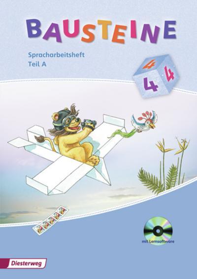 BAUSTEINE Spracharbeitsheft 4. Teil A und B im Paket mit CD-ROM