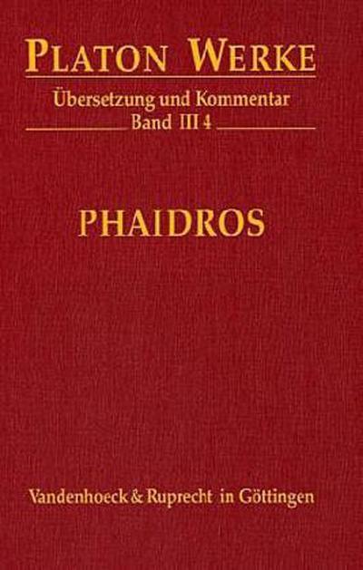 Werke III/4. Phaidros