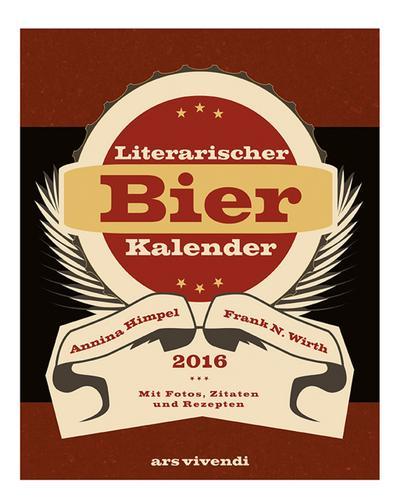 Literarischer Bier-Kalender 2016