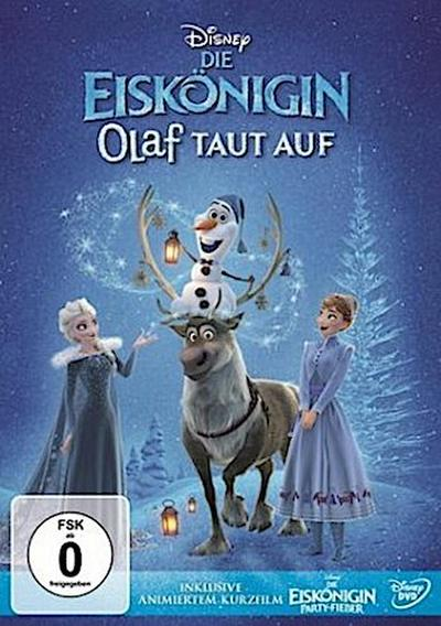 Die Eiskönigin - Olaf taut auf + Die Eiskönigin - Party Fieber, 1 DVD