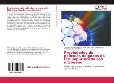 Propiedades de películas delgadas de IZO impurificado con nitrógeno