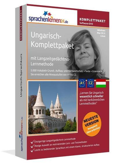 Sprachenlernen24.de Ungarisch-Komplettpaket (Sprachkurs)