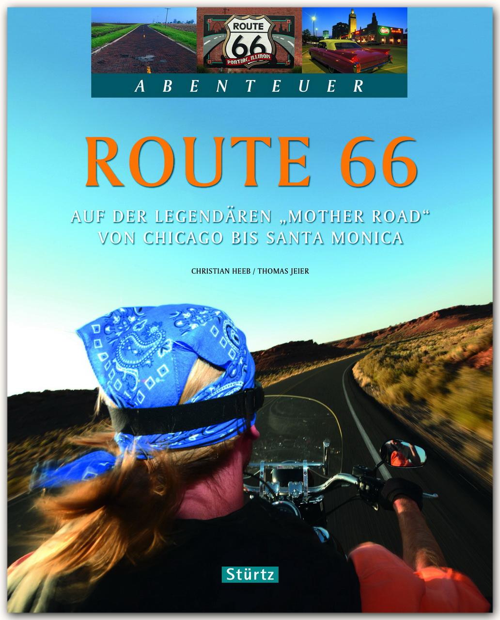 """Abenteuer Route 66 - Auf der legendären """"""""Mother Road"""""""" von Chicago bis San ..."""