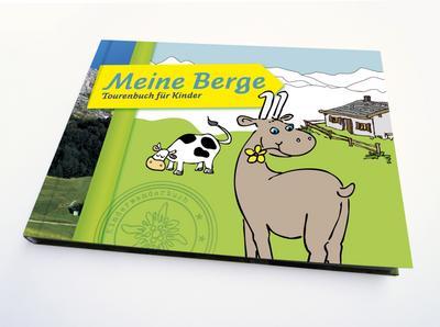 Meine Berge: Tourenbuch für Kinder
