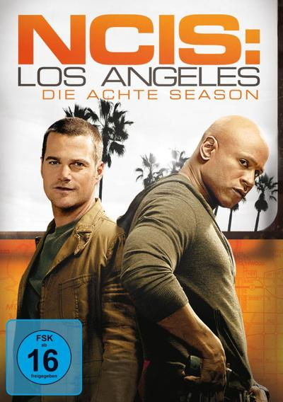 Navy CIS Los Angeles - Season 8 DVD-Box