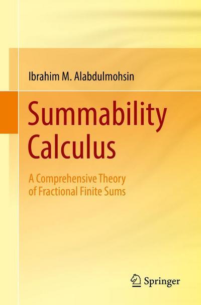 Summability Calculus