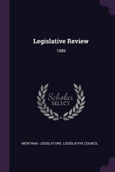 Legislative Review: 1989