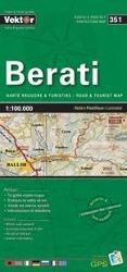 Berati Provinzkarte 1 : 100 000 GPS