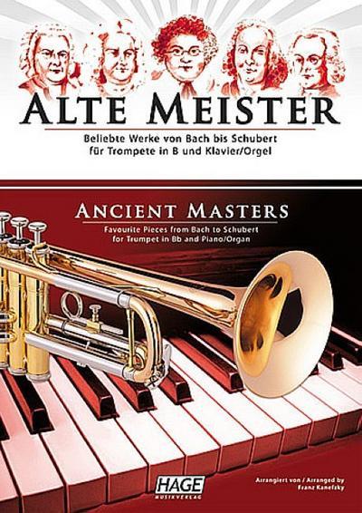 Alte Meister für Trompete und Klavier (Orgel)
