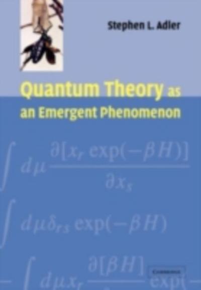 Quantum Theory as an Emergent Phenomenon