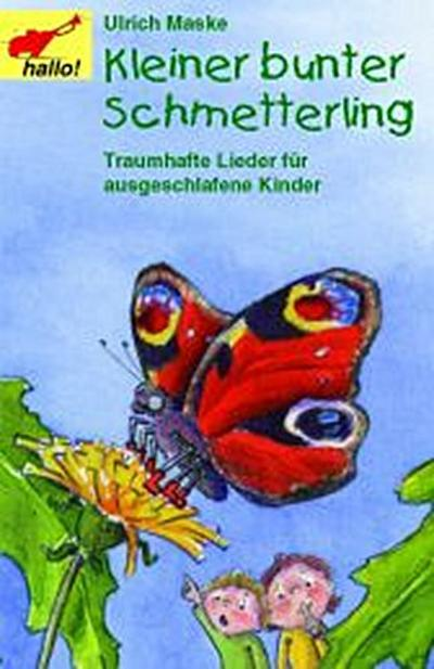 Kleiner bunter Schmetterling