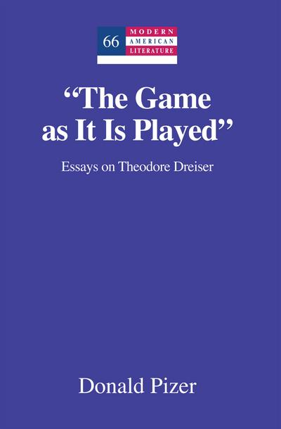 The Game as It Is Played