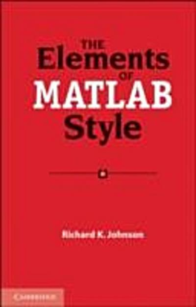 Elements of MATLAB Style