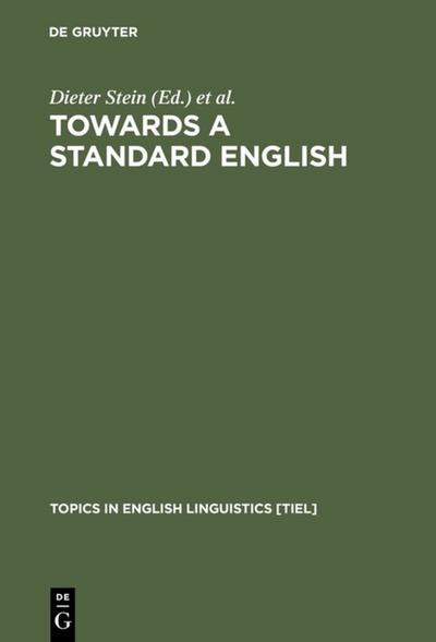 Towards a Standard English
