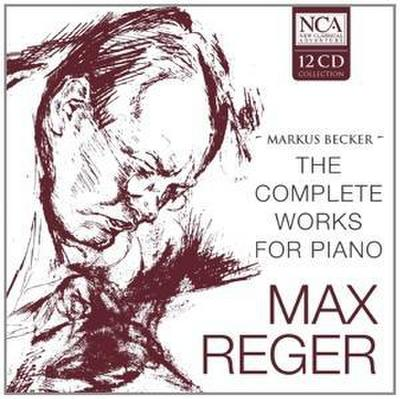 Becker, M: Complete Works For Piano (Box 12 CD's)