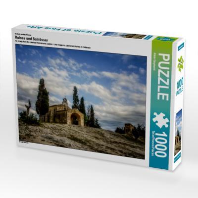 Ein Motiv aus dem Kalender Ruines und Schlösser (Puzzle)