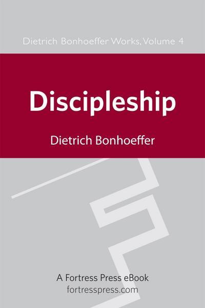Discipleship DBW Vol 4