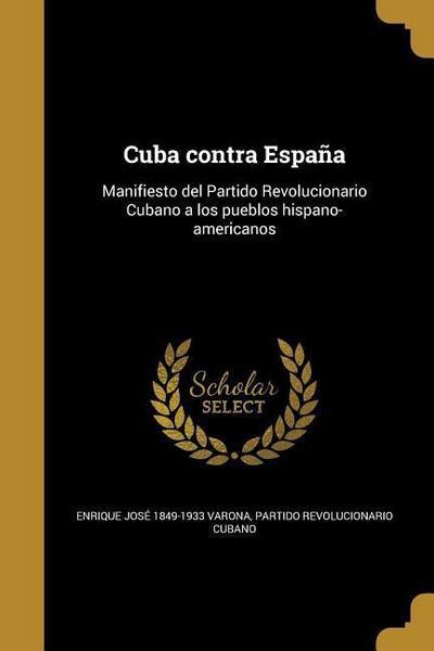 SPA-CUBA CONTRA ESPANA