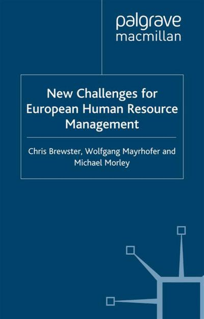 New Challenges for European Resource Management