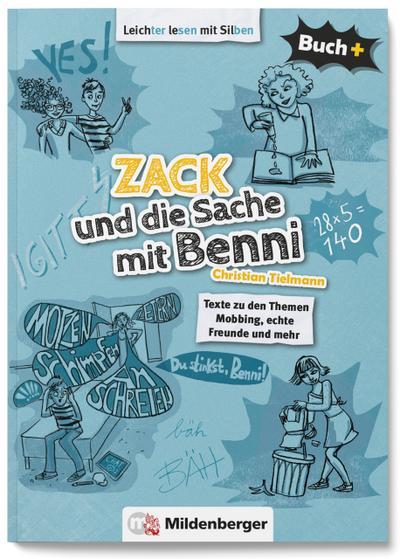 Buch+: Zack und die Sache mit Benni - Schülerbuch