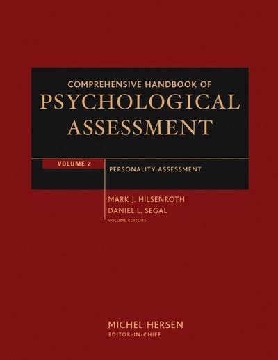 Comprehensive Handbook of Psychological Assessment, Volume 2