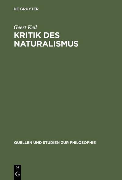Kritik des Naturalismus