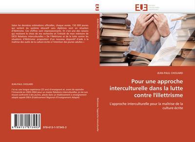 Pour une approche interculturelle dans la lutte contre l'illettrisme - JEAN-PAUL CHOUARD