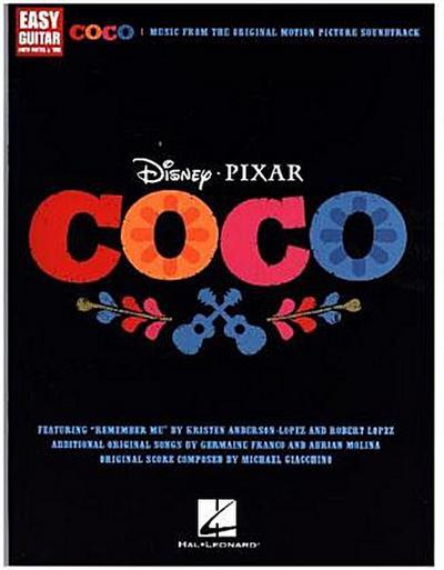 Disney Pixar's Coco -For Easy Guitar