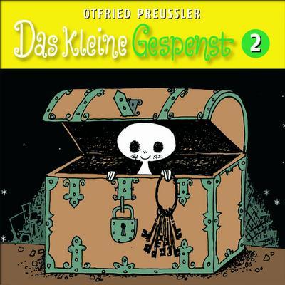 Das kleine Gespenst (Neuproduktion), 1 Audio-CD. Tl.2