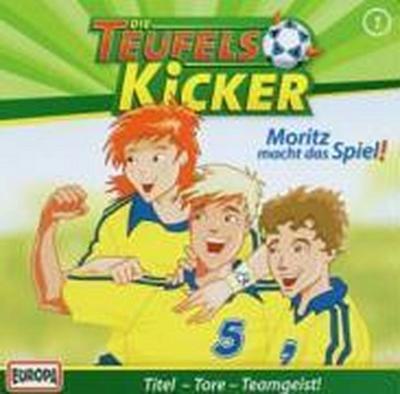 Die Teufelskicker 01. Moritz macht das Spiel! CD