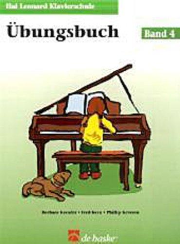 Hal Leonard Klavierschule, Übungsbuch. Bd.4 Barbara Kreader