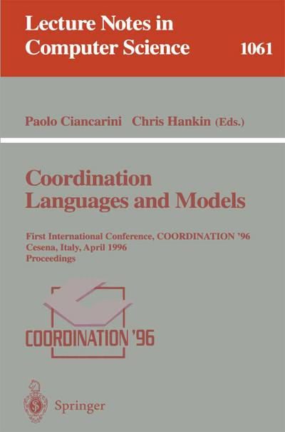Coordination Languages and Models