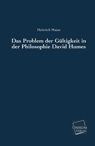 Das Problem der Gültigkeit in der Philosophie David Humes