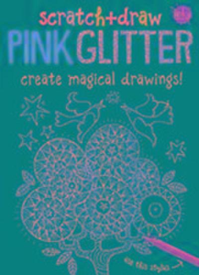 Scratch & Draw Pink Glitter