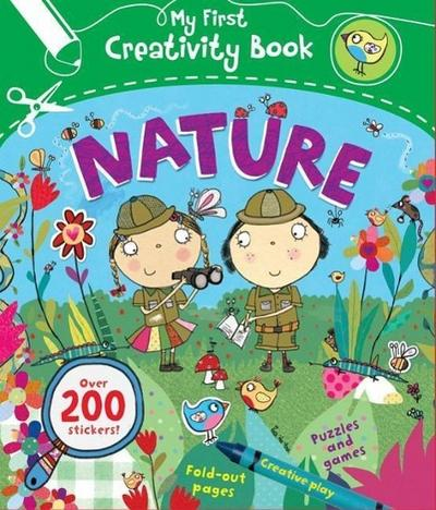 Nature: Creative Play, Fold-Out Pages, Puzzles and Games, Over 200 Stickers!