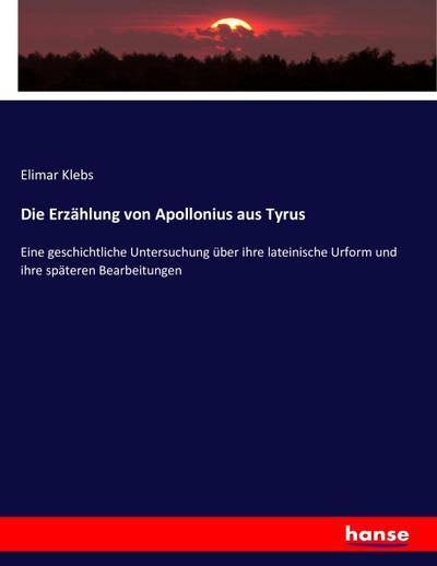 Die Erzählung von Apollonius aus Tyrus