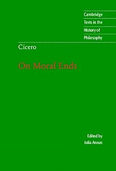 Cicero: On Moral Ends