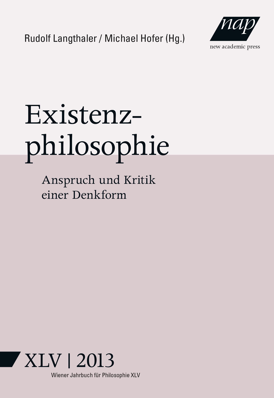 Existenzphilosophie Michael Hofer