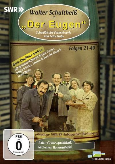 DVD Walter Schultheiß in 'Der Eugen'. Folgen 21-40; Schwäbische Fernsehserie von Felix Huby; Deutsch; Laufzeit 160 Min. plus 30 Min. Bonusmaterial