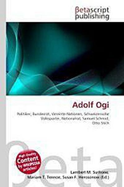 Adolf Ogi