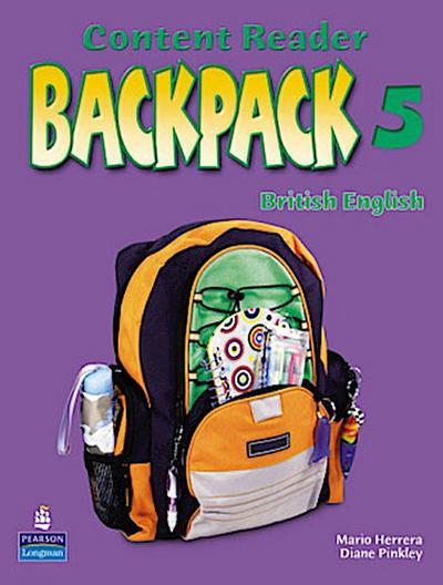 Backpack Level 5 Reader: British English [Taschenbuch] by Pinkley, Diane; Her...