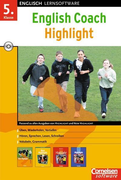 English Coach Highlight 1. CD-ROM für Windows 98/SE/2000/XP