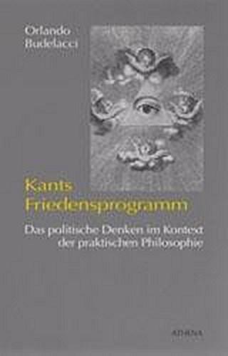 Kants Friedensprogramm Orlando Budelacci