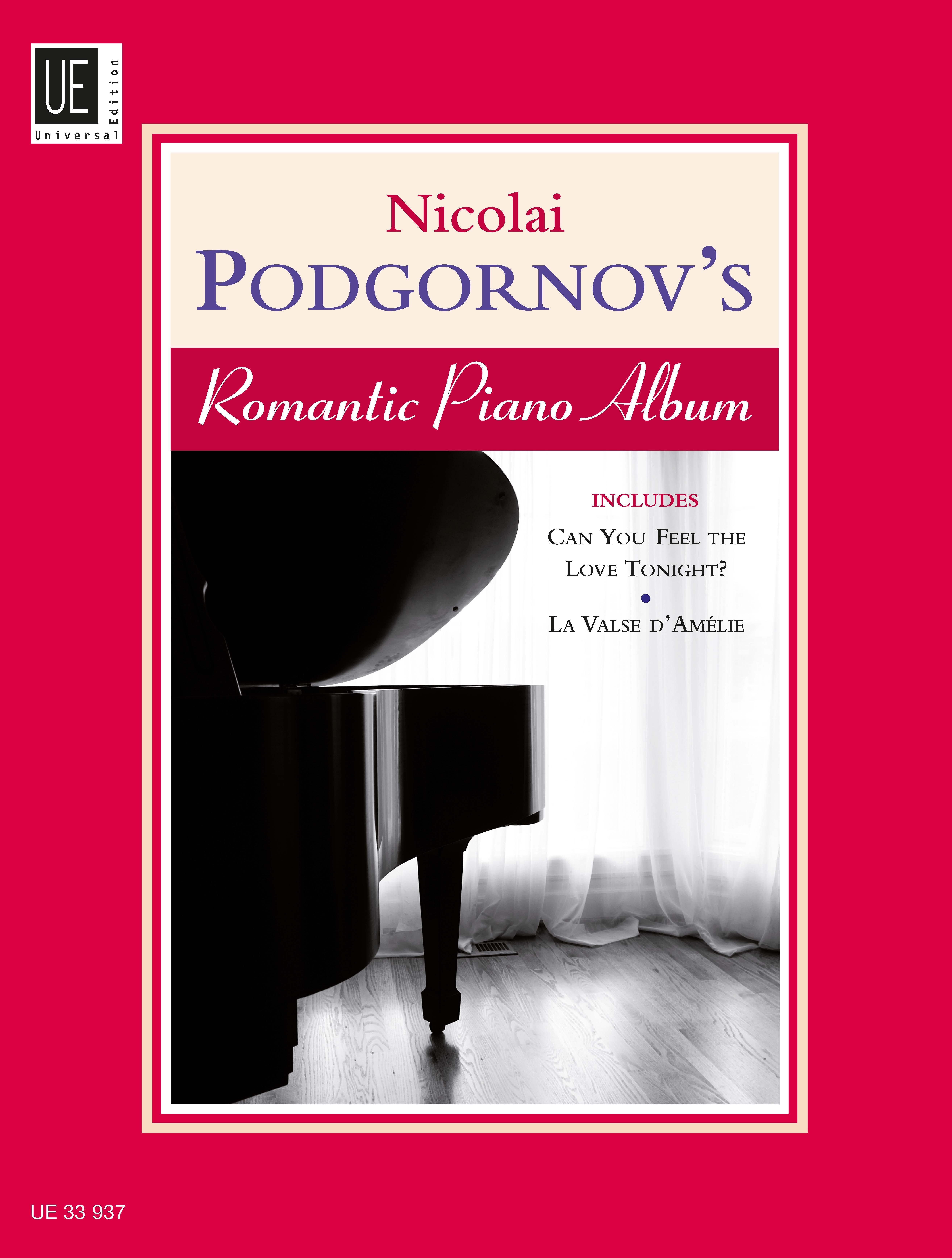 Nicolai Podgornov's Romantic Piano Album Nicolai Podgornov