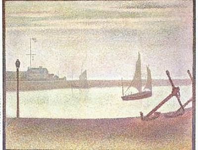 Georges Seurat - Ein Abend am Kanal von Gravelines - 1.000 Teile (Puzzle)