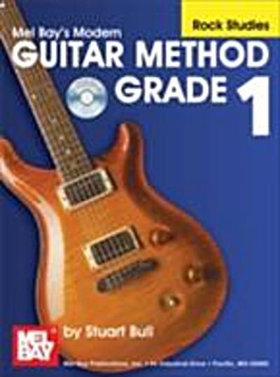 &quote;Modern Guitar Method&quote; Series Grade 1, Rock Studies