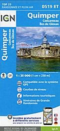 Quimper - Concarneau - Îles de Glénan 1:25 000