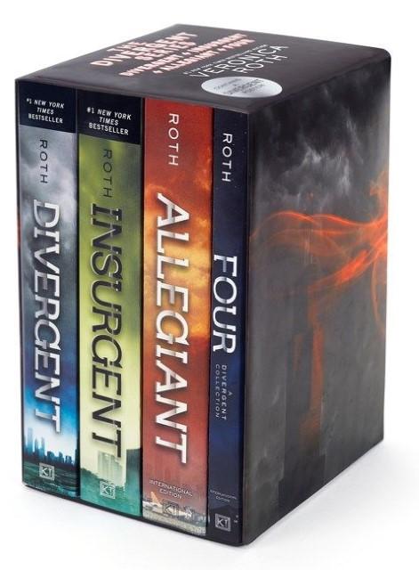 Divergent Series Ultimate Paperback Box Set, 4 Volumes