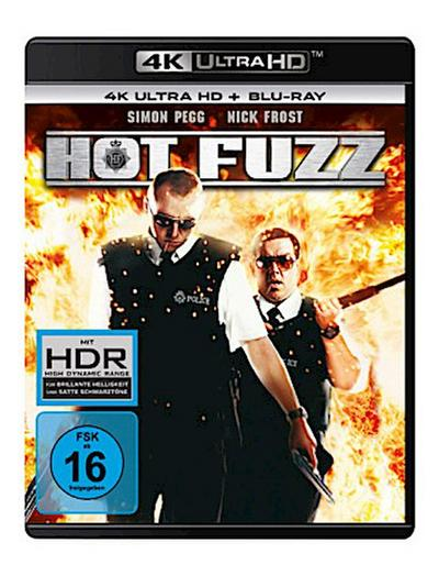 Hot Fuzz 4K, 2 UHD-Blu-ray